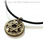 Star of David necklace , 8 Charming Mens Jewish Star Necklace In Jewelry Category