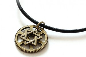 Jewelry , 8 Charming Mens Jewish Star Necklace : Star of David necklace