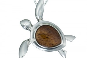 Jewelry , 8 Fabulous Koa Wood Necklace : Turtle Koa Wood Necklace