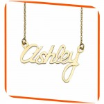 White Diamond Pendant , 8 Nice Nameplate Necklace White Gold In Jewelry Category