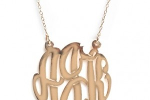 Jewelry , 8 Fabulous Baublebar Monogram Necklace : baublebar monogram necklace