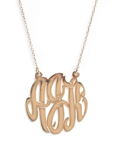 8 Fabulous Baublebar Monogram Necklace in Jewelry