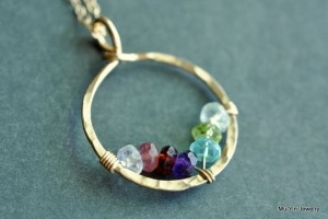 Jewelry , 7 Fabulous Birthstone Necklaces For Grandmothers : birthstone necklace