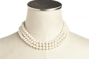 Jewelry , 8 Good Jackie O Pearl Necklace :  black pearl necklace