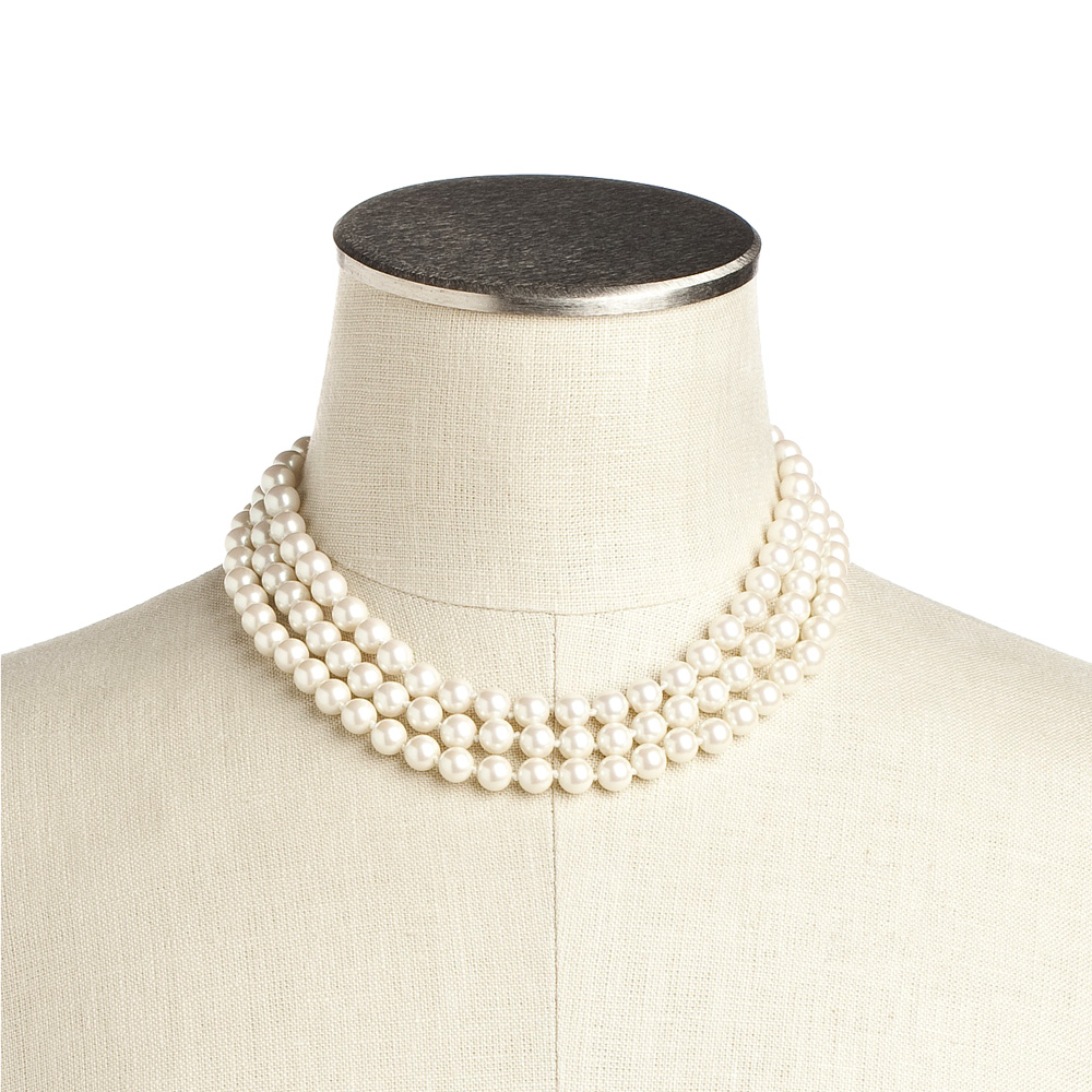 8 Good Jackie O Pearl Necklace in Jewelry