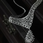 bride jewellery  , 8 Gorgeous Tanishq Diamond Necklace In Fashion Category