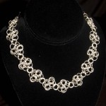 chain mail patterns , 9 Charming Chainmail Necklace Patterns In Jewelry Category