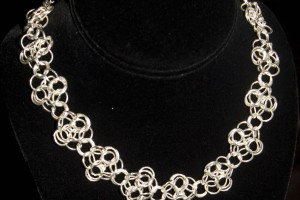 1403x1380px 9 Charming Chainmail Necklace Patterns Picture in Jewelry