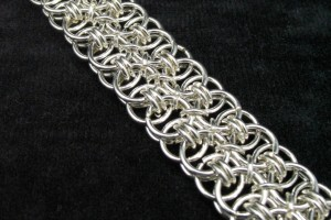 Jewelry , 9 Charming Chainmail Necklace Patterns : chainmaille