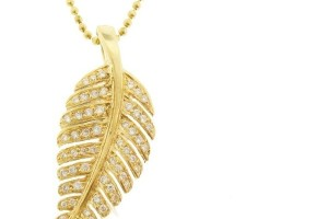 Jewelry , 8 Beautiful Jennifer Meyer Leaf Necklace :  diamond cross
