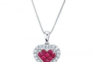 Jewelry , 8 Fabulous Costco Diamond Necklace : diamond heart necklace