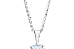 Jewelry , 8 Fabulous Costco Diamond Necklace : diamond solitaire necklace