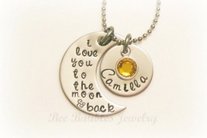 570x419px 9 Unique Personalized Charm Necklaces For Moms Picture in Jewelry