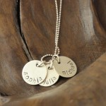 gold necklace , 9 Unique Personalized Charm Necklaces For Moms In Jewelry Category