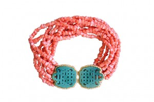Jewelry , 8 Charming Kenneth Jay Lane Coral Necklace :  handmade jewelry