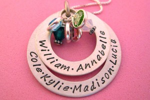 Jewelry , 7 Fabulous Birthstone Necklaces For Grandmothers :  handmade jewelry