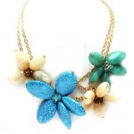 hawaiian flowers , 8 Beautiful Hawaiian Flower Necklaces In Jewelry Category