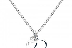 Jewelry , 8 Charming Engravable Heart Necklaces :  heart necklace