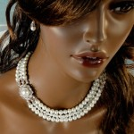 Jackie Onassis Style , 8 Good Jackie O Pearl Necklace In Jewelry Category