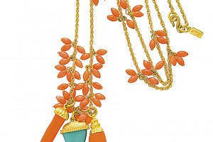 Jewelry , 8 Charming Kenneth Jay Lane Coral Necklace :  jade jewelry