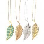 jewelry design , 8 Beautiful Jennifer Meyer Leaf Necklace In Jewelry Category