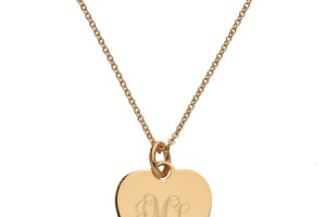 450x540px 8 Charming Engravable Heart Necklaces Picture in Jewelry
