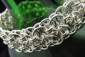Jewelry , 9 Charming Chainmail Necklace Patterns :  jewelry making