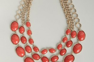 Jewelry , 8 Charming Kenneth Jay Lane Coral Necklace : layered necklace