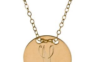 Jewelry , 7 Fabulous Jennifer Zeuner Three initial Pendant Necklace : miriam merenfeld jewelry