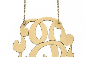 435x580px 7 Lauren Conrad Monogram Necklace Picture in Jewelry