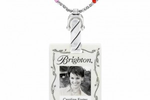 Jewelry , 7 Charming Brighton Badge Clip Necklace :  name badges