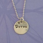name necklace , 9 Unique Personalized Charm Necklaces For Moms In Jewelry Category