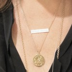 nameplate necklace , 7 Good Jennifer Meyer Nameplate Necklace In Jewelry Category