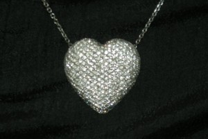 Jewelry , 8 Lovely Bewitched Heart Necklace : necklace