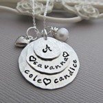 necklace charms , 9 Unique Personalized Charm Necklaces For Moms In Jewelry Category
