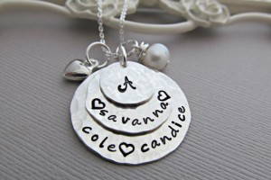 570x428px 9 Unique Personalized Charm Necklaces For Moms Picture in Jewelry