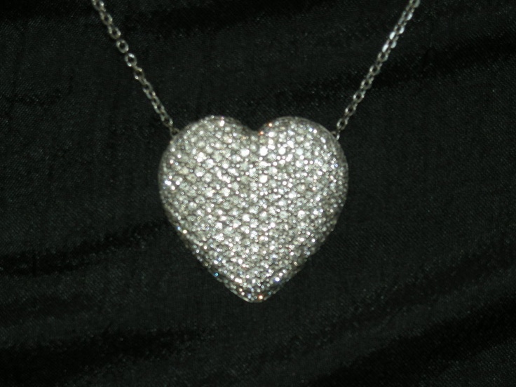 8 Lovely Bewitched Heart Necklace in Jewelry