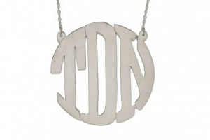 Jewelry , 8 Fabulous Baublebar Monogram Necklace :  necklaces for men