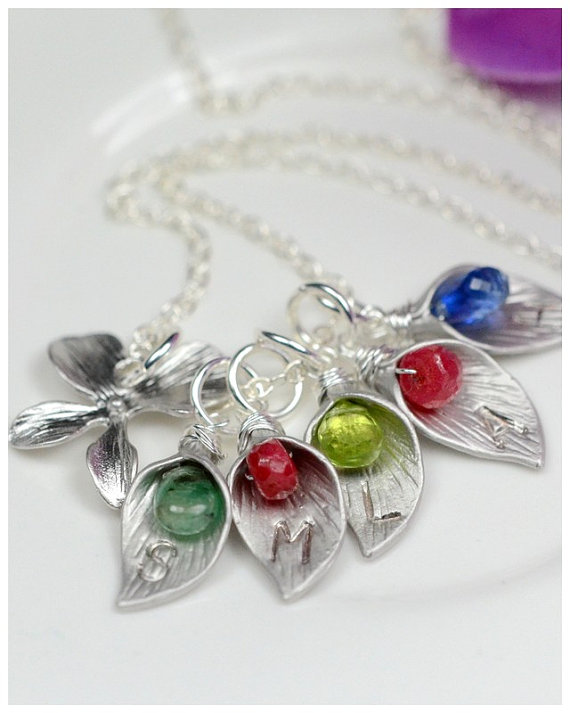 Jewelry , 7 Fabulous Birthstone Necklaces For Grandmothers :  Necklaces For Women