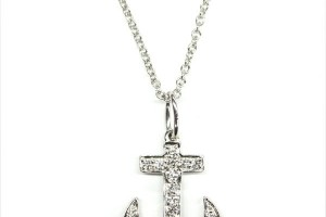 600x795px 8 Charming Anchor Necklace Tiffany Picture in Jewelry
