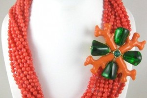 Jewelry , 8 Charming Kenneth Jay Lane Coral Necklace :  necklaces for women