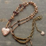 peace necklace , 8 Lovely Bewitched Heart Necklace In Jewelry Category