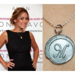 pearl necklace , 7 Lauren Conrad Monogram Necklace In Jewelry Category