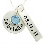 personalized necklace , 9 Unique Personalized Charm Necklaces For Moms In Jewelry Category