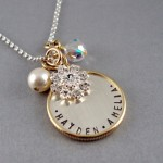 silver charm necklace , 8 Cool Charm Necklaces For Moms In Jewelry Category
