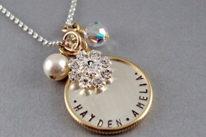 Jewelry , 8 Cool Charm Necklaces For Moms : silver charm necklace