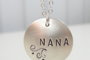 Jewelry , 8 Charming Grandma Locket Necklace :  silver jewellery
