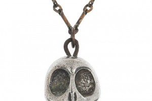 Fashion , 8 Unique Pamela Love Skull Necklace : silver plated skull pendant