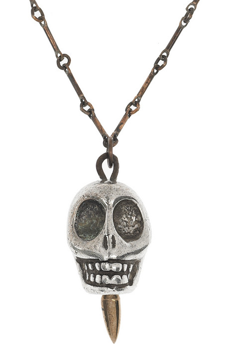 8 Unique Pamela Love Skull Necklace in Fashion