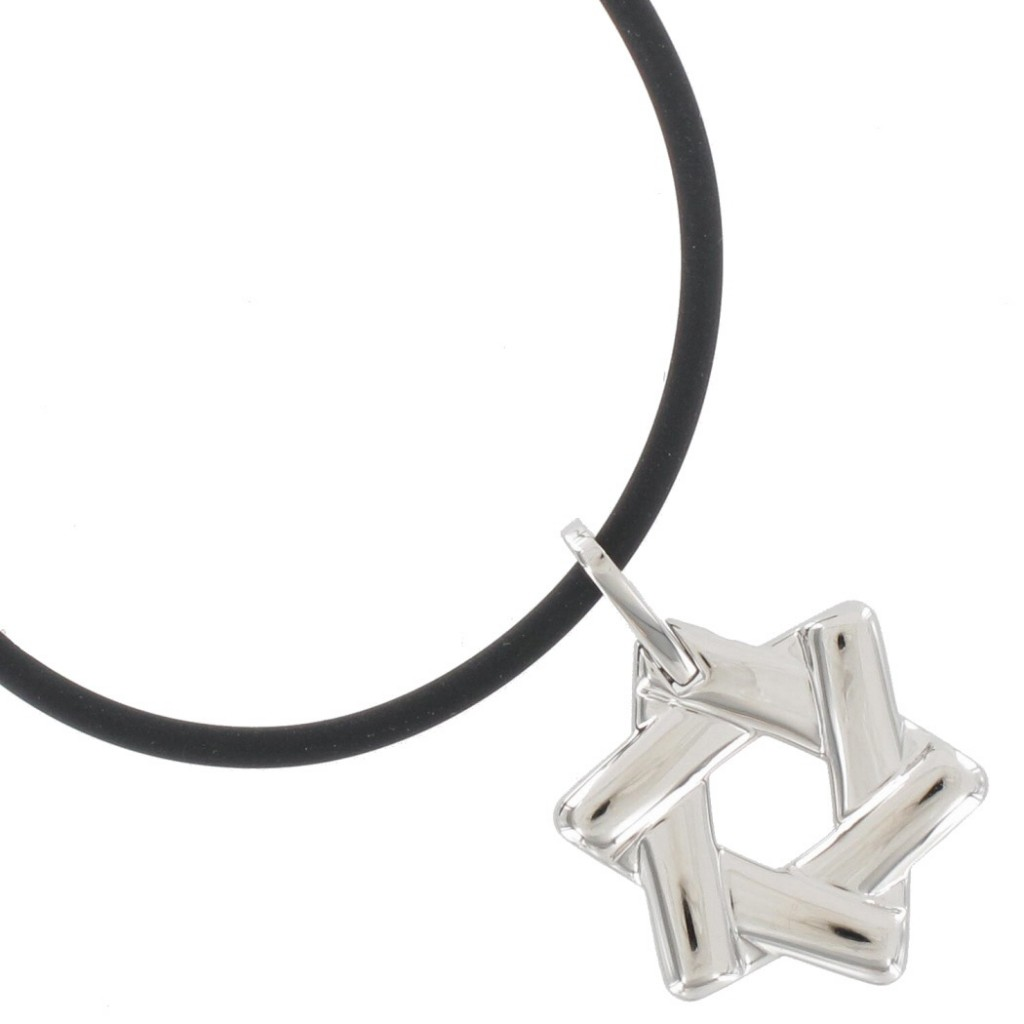 8 Charming Mens Jewish Star Necklace in Jewelry